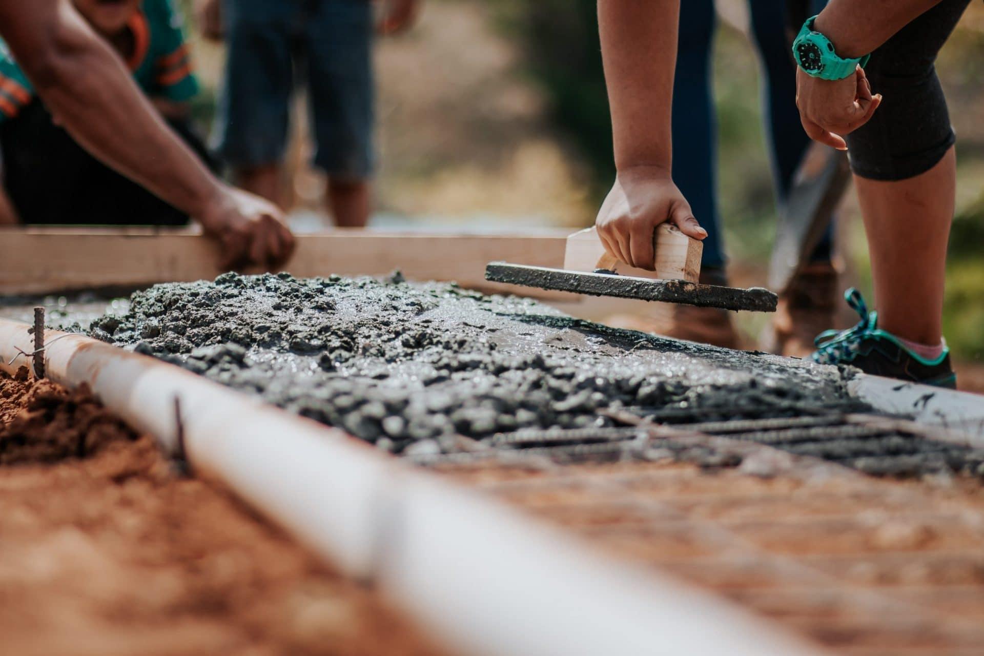 Sneldrogende cementdekvloeren - Van Berlo cementdekvloeren