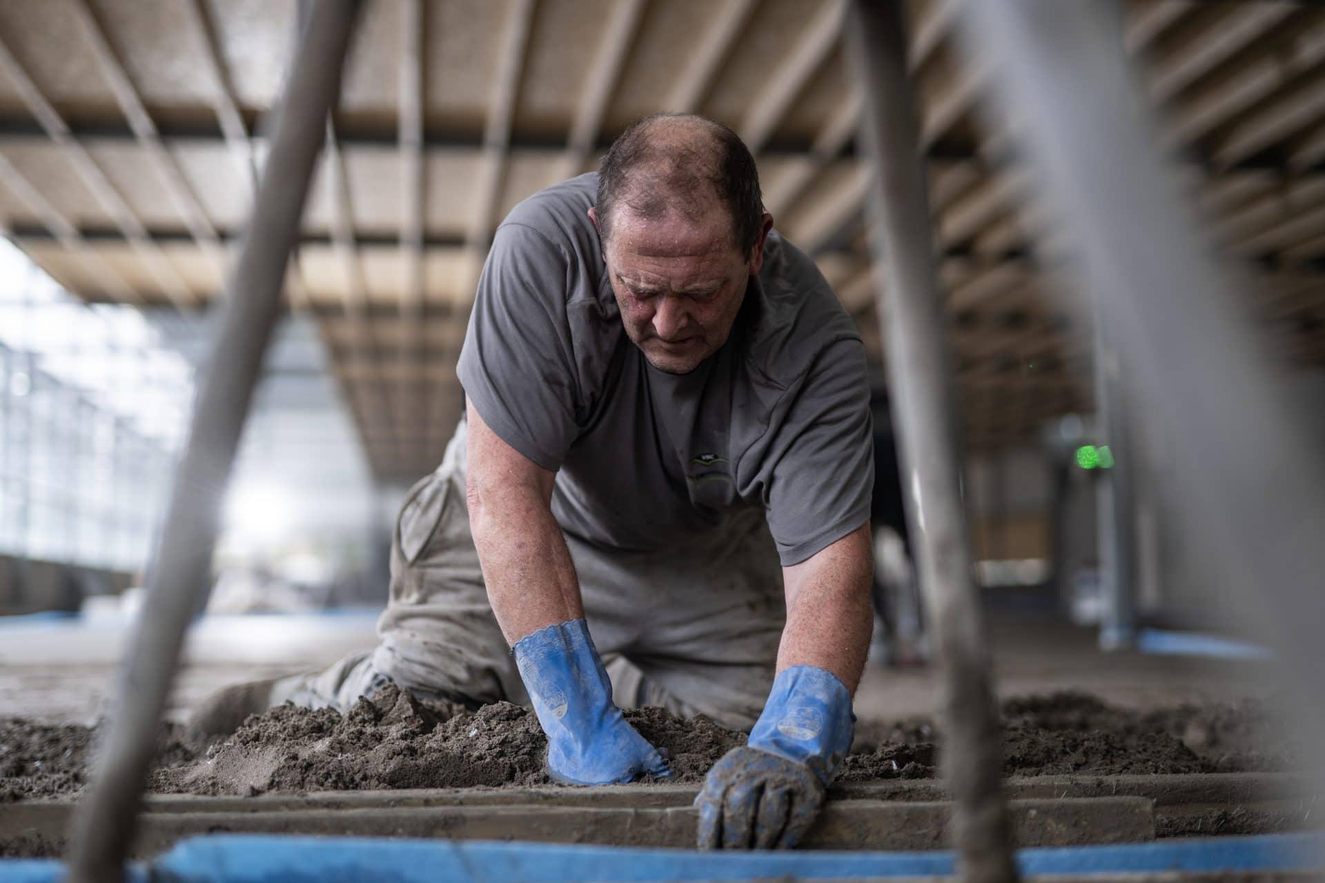 Cementvloer leggen